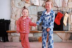 Pajama Top & Bottom Free Sewing Pattern