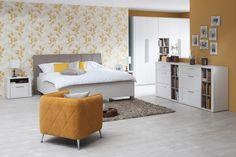 Spálňa NORDIC: Dub nelson / Pino aurelio Bed, Furniture, Home Decor, Decoration Home, Stream Bed, Room Decor, Home Furnishings, Beds, Home Interior Design