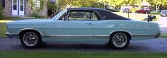 The car was an old Ford LTD that had apparently been used as a stable for several years. (1967 Ford LTD)