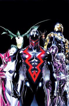Earth X- the Iron Avengers.