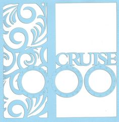 Cruise: Porthole And Waves 12 x 12 Overlay Laser Die Cut - * 12 x 12 Layered die cuts and overlays do come unassembled. This is to allow for greater creative flexibility for you when creating . Scrapbook Titles, Scrapbook Templates, Scrapbook Designs, Scrapbook Sketches, Diy Scrapbook, Scrapbooking Layouts, Travel Shadow Boxes, Vacation Trips, Vacations