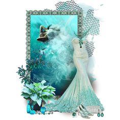 """little mermaid"" by sagramora on Polyvore"