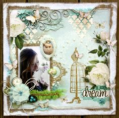 {INSPIRED!} Postcards From Paris II Layout by Designer Gabrielle Pollacco!