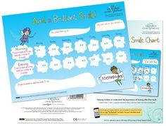 Add a Sensible Smile - Tooth Brushing Reward Chart encouraging youngsters to care for his or her tooth and the significance of dental hygiene. As adults ev
