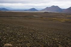 The Central Highlands in Northeast Iceland