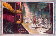 School Print The Ballet Charles Mozley, 1914 - 1991 Lithograph 497 × × 30 in) Incl delivery (from Merivale Editions - my dad's company) Ballet Theater, Theatre, Original Art For Sale, Limited Edition Prints, Poster Prints, Posters, Printmaking, Contemporary Art, School