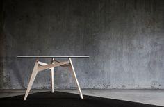 "TO GATHER. Designer: Troels Grum-Schwensen. Cabinetmaker: Martin Kellermann Hansen. Part of ""Skud på stammen"" exhibition. #danishdesign #furniture #cabinetmakers #allgoodthingsdanish spotted by @missdesignsays"