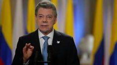 """Image copyright                  Presidencia de Colombia                  Image caption                                      Santos anunció que los críticos del acuerdo anterior conocerán el nuevo texto a más tardar este domingo.                                """"Este acuerdo, renovado, ajustado, precisado y aclarado debe unirnos, no dividirnos"""", dij"""