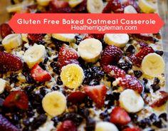 Gluten Free Baked Oatmeal Casserole