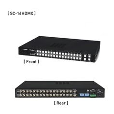 Samsung SeeEyes SC-16HDMX 16x16 HD-SDI Matrix Switcher CCTV Video System New #SeeEyes