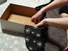 Tutorial-diy fabric covered box
