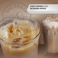 Big Train's Ice Coffee Mixes include over 25 different vibrant flavors, all you need is ice and water and it makes the most refreshing blended ice coffee drink. Blended Ice Coffee, Coffee Mix, Iced Coffee Drinks, Refreshing Drinks, Big, Desserts, Train, Food, Tailgate Desserts