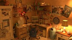 Bedroom School Project., Jerome Makiti on ArtStation at https://www.artstation.com/artwork/8Loen