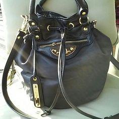 Sam Edelman drawstring bucket bag Like new,nylon material Sam Edelman Bags Crossbody Bags