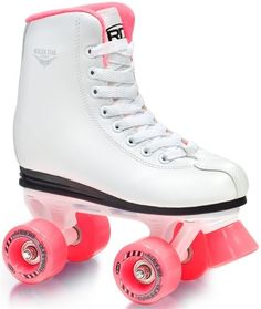 Roller Derby Roller Star 350 Kids/Girls Pink Quad Roller Skates FREE POST Size 5