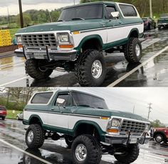 I totally enjoy this colouring scheme for this car 1979 Ford Bronco, Bronco Truck, Lifted Chevy Trucks, 4x4 Trucks, Lifted Dually, Ford 4x4, Car Ford, Classic Bronco, Classic Ford Trucks