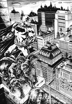 Batman by Marcelo DiChiara