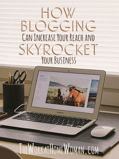 Blogging is not only popular right now, it is a powerful tool that can help you to effectively increase your reach and build your business. Here's how it can impact your business! via The Work at Home Woman