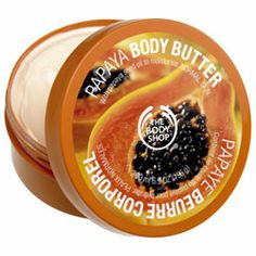 Papaya body butter