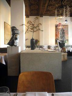 Kunst & Esskultur: Restaurant Richard in Berlin.