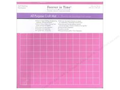 $4.60= Craft Pad All Purpose self-healing foam mat, 8mm thick, with a 12x12- grid allows easy alignment. Safe for use with rotary cutters, piercing tools, eyelet hammers & needles. Great for paper crafting, scrapbooking, stamping, stitching, etc. Long-lasting &even washable!