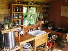 The Flying Tortoise: Teach Nollaig. A Beautiful Humble Tiny Home On Wheels In Ireland's Kilkenny...