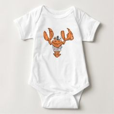 Crab Monster love Baby Bodysuit - love gifts cyo personalize diy