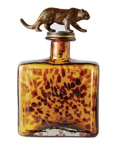 El Jefe Jaguar Decanter
