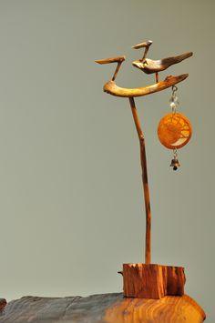 Driftwood, Concept Art, Korean, Woodworking, Model, Crafts, Home Decor, Woodwind Instrument, C'est La Vie