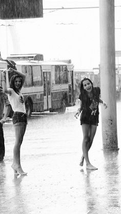 when we didn't care, laugh,dance be free in the rain .