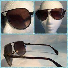 NEW ALEXANDER MCQUEEN METALLIC SUNGLASSES BRAND NEW WITH ORIGINAL CASE ALEXANDER MCQUEEN METALLIC SUNGLASSES. Alexander McQueen Accessories Sunglasses