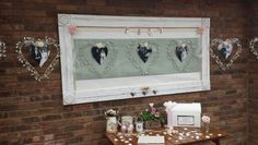 Large ornate frames are available for you to use, ideal for table plans, photos and much more.....