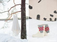 An Australian bride and a Finnish groom decided to have an open air chapel Winter Wedding in Finland. Chapel Wedding, Winter Weddings, Finland, Christmas Stockings, Groom, Bride, Holiday Decor, Blog, Fun
