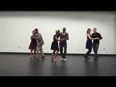 30 minute beginner Lindy Hop Lesson - YouTube