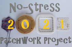 """What a year 2020 has turned out to be! I don't think any of us had a clue when we started our """"No-Stress"""" 2020 Patchwork Project last year as to how much we would need that """"no stress"""" aspect for our crafts!But here we are, at the beginning of a new year. Those of you who participated in last year's project and those who have been watching the progress from the sideline have indicated a clear """"Let's do it again""""! King Size Bed Covers, Working On It, Loom Weaving, Stress, Let It Be, Turtle, Projects, Pattern, Crafts"""