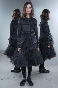BNWT NEW LADIES YOURSTYLE BLACK PADDED PARKA COAT SIZE 8 FUR HOOD WINTER JACKET