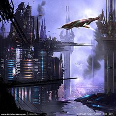 cyberxen:  Fantasy Flight Games 'REX' Artwork 6 by ~D—CO