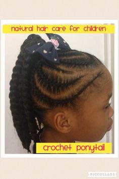 Braids and twist Kids Crochet Hairstyles, Crochet Braids For Kids, Kids Braided Hairstyles, Little Girl Hairstyles, Teenage Hairstyles, School Hairstyles, Natural Hair Care, Natural Hair Styles, Toddler Hair