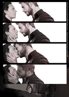 Good grief, that moment, I wish it happened like that #Thorki