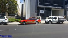 https://flic.kr/p/NNEgb3 | Australian Federal Police | General Duties vehicle parked outside AFP Building, Perth, WA