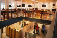 Mit dem Architekturbüro Oskar Leo Kaufmann & Albert Rüf, wurde in mehreren Phasen seit 1998 das gesamte Hotel Krone in Au neugestaltet bzw. errichtet. Leo, Basketball Court, Design, Environment, Lion, Design Comics
