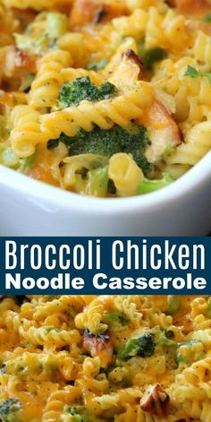 Broccoli Recipes, Broccoli Chicken, Fried Chicken, Chicken Noodles, Pureed Recipes, Easy Casserole Recipes, Casserole Dishes, Easy Dinner Casserole, Brocoli Casserole Recipes