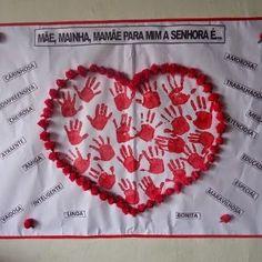 Diy Arts And Crafts, Crafts For Kids, Valentine Day Crafts, Valentines, Diy Photo Backdrop, Mom Day, Saint Valentine, Child Love, Preschool Activities