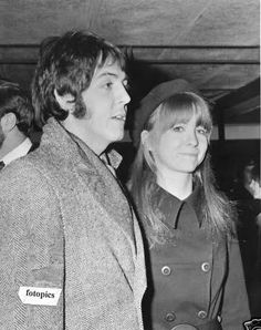 pinterest jane asher and george harrison | Paul Mccartney, romanced girlfriend Jane Asher for nearly five years ...