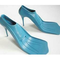 What will they think of next?  I think  I'll wear these for Halloween and go as a Blue-footed Booby .