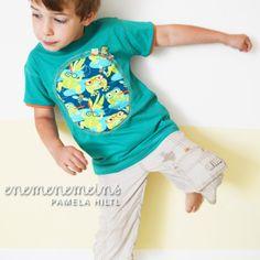 lillestoff jack & frogfriends easy peasy shirt tutorial enemenemeins