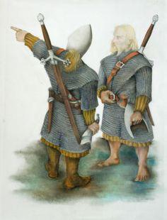 Scottish Warrior, Irish Warrior, Viking Culture, Celtic Culture, Highlands Warrior, Celtic Warriors, Effigy, Picts, Dark Ages