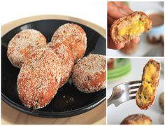 Vegetarian Parsi Kebabs (patties), the tempting deep-fried delights - Gluten Free, Vegan