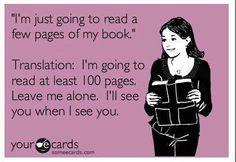 When I'm reading Diana Gabaldon's  Outlander Series