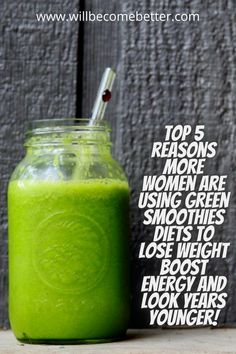 Lose weight and feel great with these Green Smoothie Recipe for Quick Weight Loss. These healthy smoothies taste great and an easy way to eat veggies!#greensmoothie #smoothieforweightlossfatburning 10 Day Green Smoothie, Green Smoothie Cleanse, Green Smoothie Recipes, Smoothie Diet, Healthy Smoothies, Weight Loss Meal Plan, Weight Loss Drinks, Weight Loss Smoothies, Body Detox